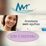dentista com anestesia sem agulha na Casa Verde
